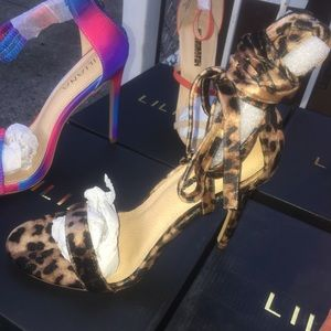 Leopard Lady Woman's High Heel Shoe